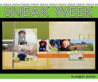 Sneak week 1 maegen