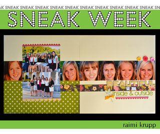 Sneak week 2 raimi