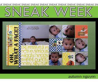 Sneak week 7 autumn