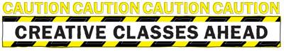 Caution_creativeclassesahead