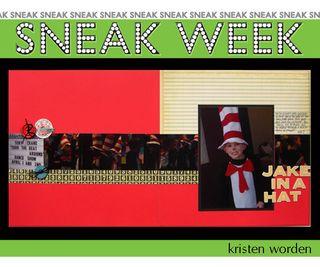 Sneak week 6 kristen
