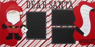 Cricut kits dear santa