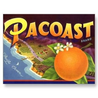 Pacoast_oranges_vintage_fruit_crate_label_art_postcard-p239021602121304921z8iat_400