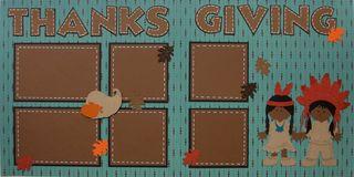 Cricut kit thanksgiving indians