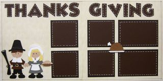 Cricut kit thanksgiving pilgrim
