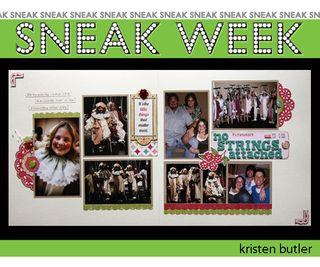 3-sneek week kristen b