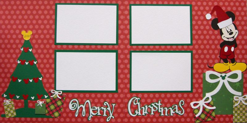 Cricut kit mickey christmas