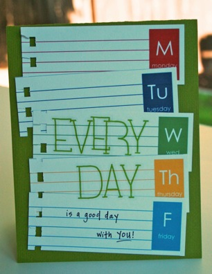 Bj AUG KIT Every day card