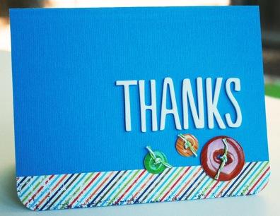 Bj AUG KIT Thanks card
