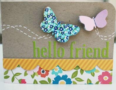 Bj SEPT KIT card Hello Friend