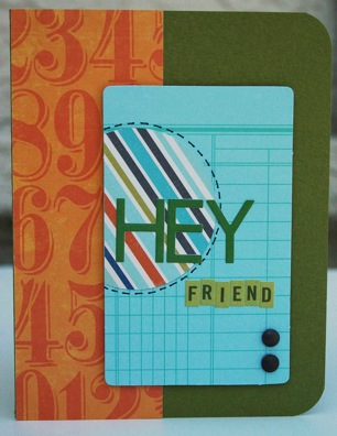 Bj SEPT KIT card Hey Friend