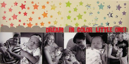 Bw dream in color