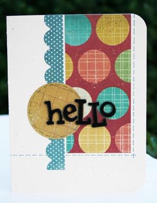 Bj OCT KIT Hello card