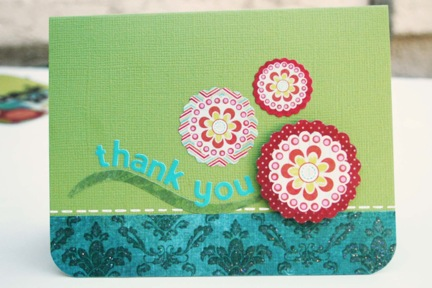 Bj OCT KIT Thank you with flowers