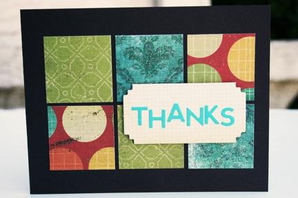 Bj OCT KIT Thanks card