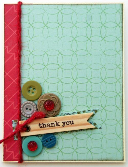 Sarah c card 1 thank you