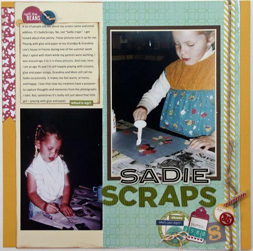 Sarah c sadie scraps