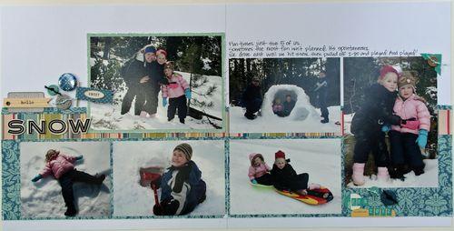 Sarah c snow day